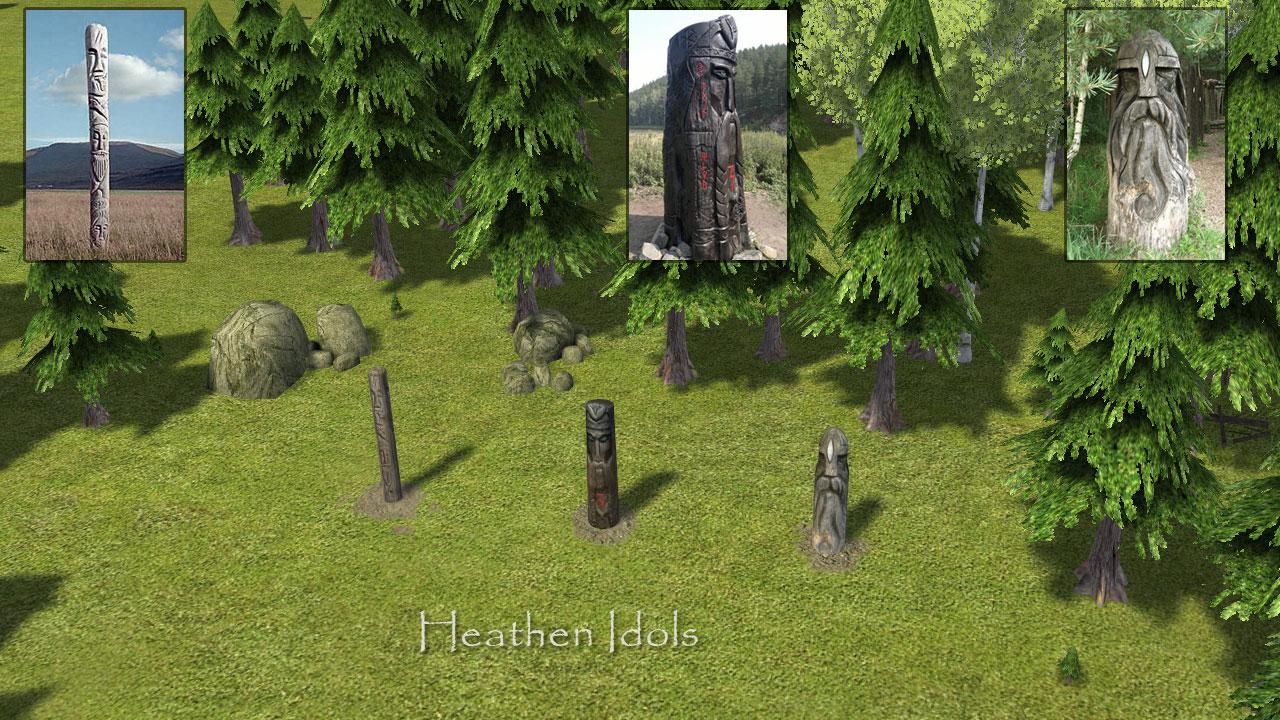 Heathen Idols