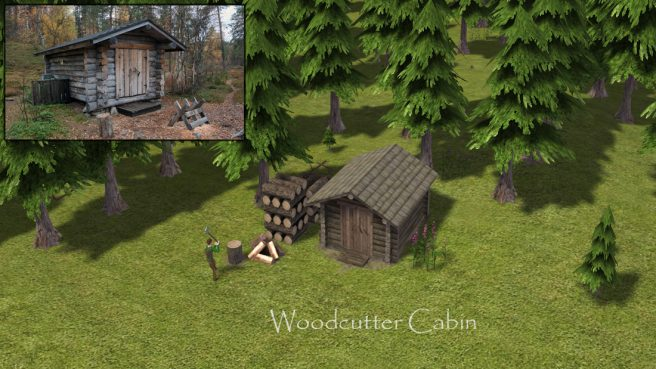 woodcutter cabin